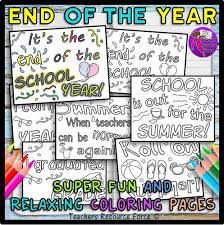 end of the year positive mindset quocolouring pages teaching