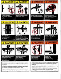 Lift Replacement Warning Label Kit Autolift Org