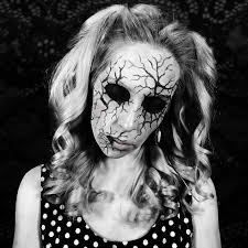 ed doll makeup more creepy face