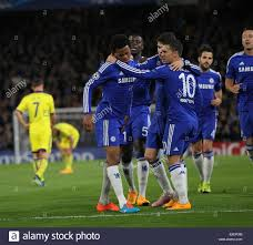 London, UK. 21st Oct, 2014. Chelsea's Loic Remy celebrates scoring ...