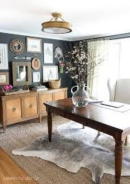 home office desk jute herringbone rug