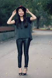 100 leather pants outfits to showcase