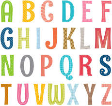 Amazon Com Decowall Da 1701a Uppercase Alphabet Abc Letter Kids Wall Stickers Wall Decals Peel And Stick Removable Wall Stickers For Kids Nursery Bedroom Living Room Decor Kitchen Dining