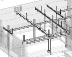 column beam structure drawing