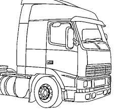 Kleurplaten En Zo Kleurplaten Van Vrachtwagens