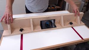 Diy Router Table And Fence Build Diy Montreal