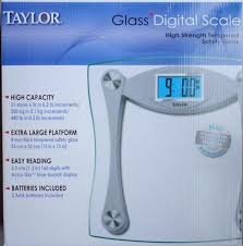 taylor high quality digital glass scale