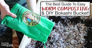 worm posting diy bokashi bucket