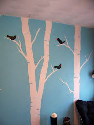tree wall painting tree mural