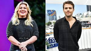 Kelly Clarkson Fangirls Hard Over Paul Wesley On Her Display:'Up What  Stefan?' - See - Binge Post