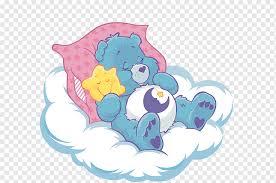Wish Bear Share Bear Wall Decal Care Bears Bear Blue Mammal Child Png Pngwing