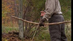 how to build a survival bow