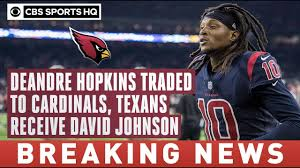 DeAndre Hopkins TRADED to Cardinals in ...