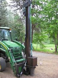 7 Fence Post Driver Ideas Tractor Attachments Tractor Idea Tractor Implements