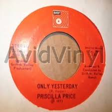 Priscilla Price Only Yesterday Vinyl Records and CDs For Sale | MusicStack