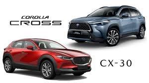 เทียบสเปก Toyota Corolla CROSS กับ Mazda CX-30 ราคาเท่ากัน 1,199,000 บาท -  Top Gear Thailand