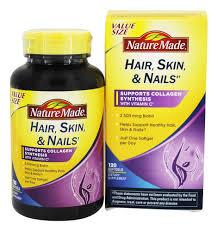 nature made hair skin nails