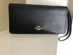 slim wallet polished pebble leather