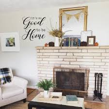 It S So Good To Be Home Wall Decal Living Room Vinyl Etsy