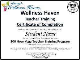 yoga teacher program