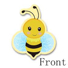 Tarjeta De Invitacion Tematica De Abeja Miel Insectos Suministros
