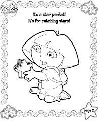 Kleurplaten Dora Kleurplaat Printen
