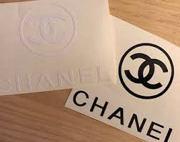 Stickers Chanel Etsy
