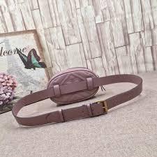 gucci belt bag dusty pink mount mercy