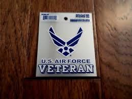 U S Military Air Force Veteran Window Decal Sticker Usaf Vet Ebay
