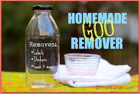 adhesive remover a natural homemade