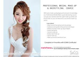 bridal make up hairstyling course