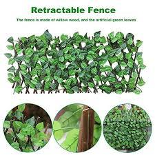 N G Retractable Fence Artificial Leaf Fa Buy Online In Sweden At Desertcart