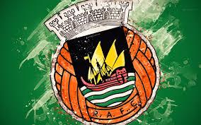 Scarica sfondi Il Rio Ave FC, 4k, arte pittura, logo, creativo, portoghese  squadra di calcio, Primeira Liga, emblema, verde, sfondo, grunge, stile,  Vila do Condi, Portogallo, calcio monitor con risoluzione 3840x2400.  Immagini