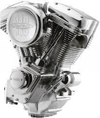 rev tech 88 ci engine natural chrome