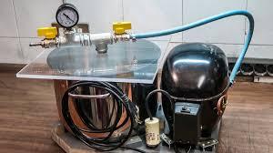 diy vacuum pump and chamber you