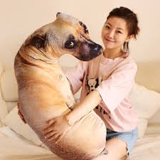 Big Offer 7fe5 3d Dog Shaped Car Decorative Pillow Puppy Cushion Child Room Home Decorations Cartoon Sofa Toys Sleeping Pillows Pp Cotton Core Cicig Co