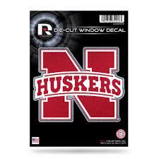 Shop Nebraska Cornhuskers Decal 5x5 Die Cut Bling Overstock 27573737