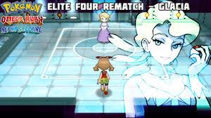 alpha sapphire elite four strategy