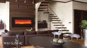 electric fireplaces slim line series