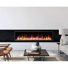 harmony built in led electric fireplace