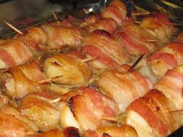 Easter Bacon Wrapped Teriyaki Scallops ...