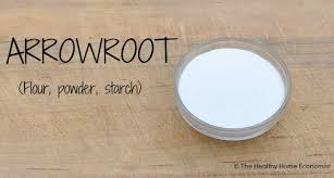 using nutritious arrowroot in your