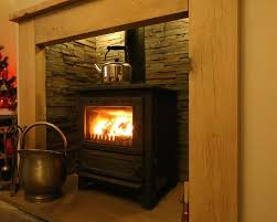 can i use tiles around my wood burner