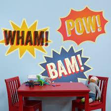 Halftone Wham Bam Pow Comic Peel Place Oopsy Daisy Oopsy Daisy Baby Wall Art Wall Art Decor