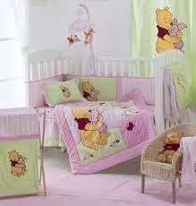 pooh crib bedding collection