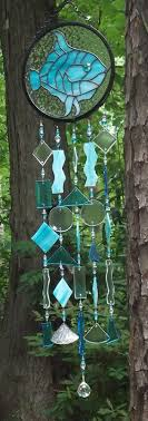 large wind chimes sandyhook art glass