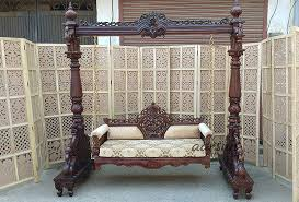 indoor wooden swing high quality jhula