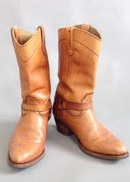 vintage cowboy boots leather boots