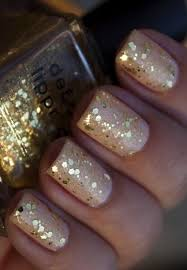 Pin by Adela Carter on My Style in 2020 | New years eve nails, Gold glitter  nails, Nails