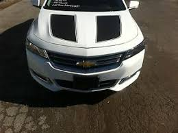 2014 2020 Chevrolet Impala Vinyl Hood Trunk Decals Stickers Graphics Stripes Ebay